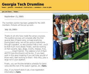 Georgia Tech Drumline